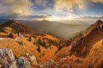 Spomienky na jeseň - panorama+